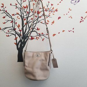 MARC by Marc Jacobs C-Lock Leather Bucket Bag
